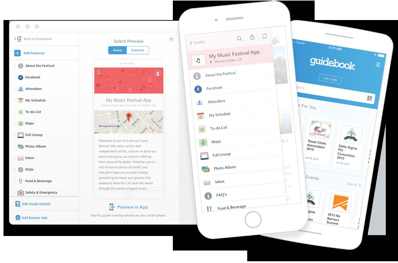 create an app guidebook
