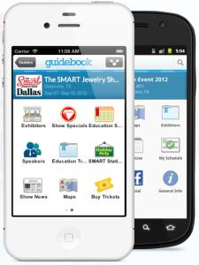 Guidebook trade show app