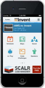 conference app for AWS re invent