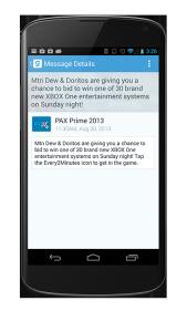 get agendas when you download event app