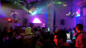 The dancefloor at Venue 550