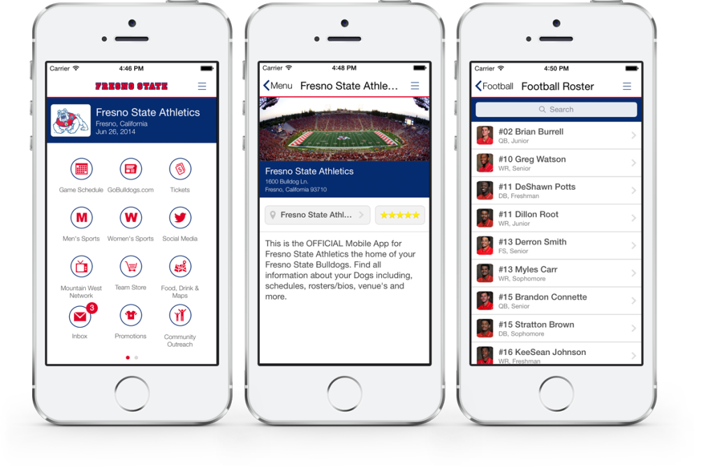 Fresno State Athletics App