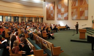 Zion's congregation utilizes a church app