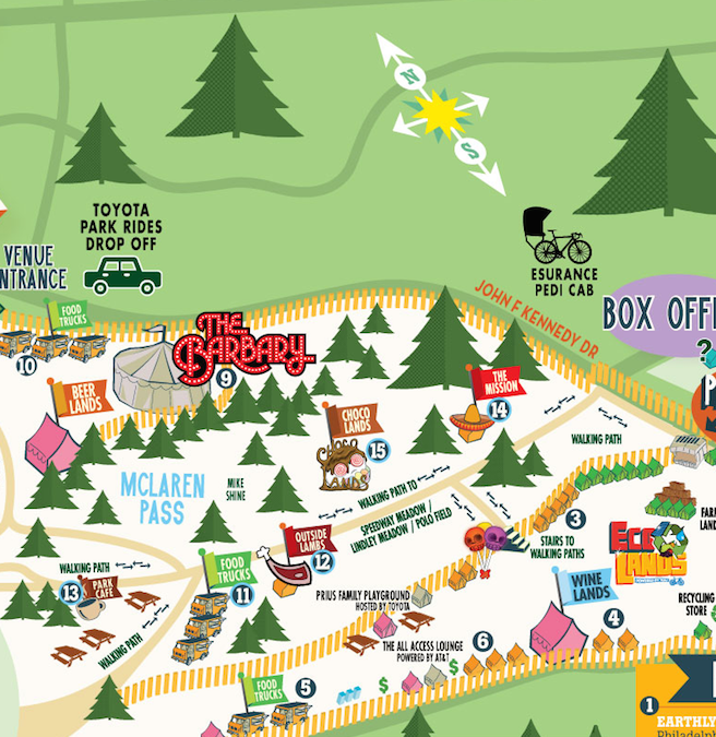 here are the very best festival maps