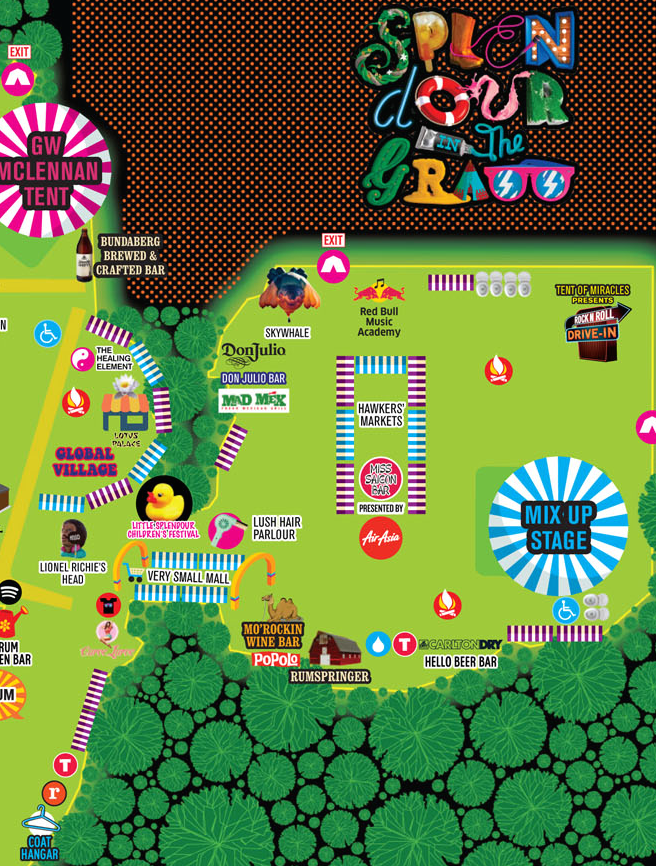 best festival maps