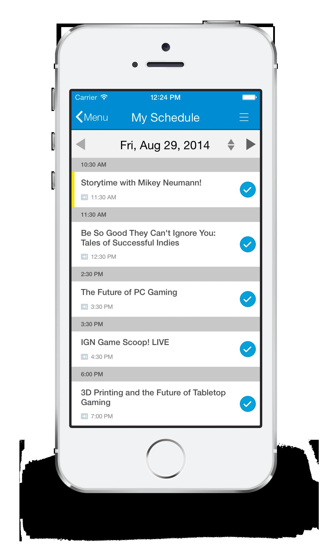 event communication app