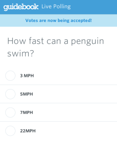 mobile live polling how fast