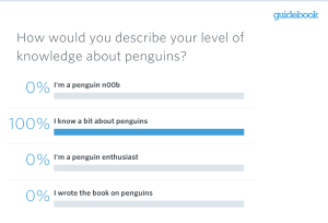 mobile live polling penguin level