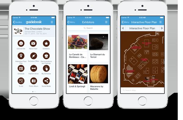Chocolate Show App
