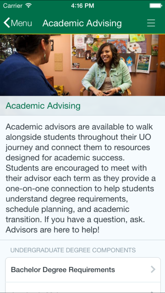 apps for universities