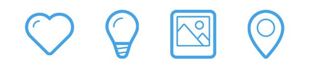 event-app-design-clean-icons