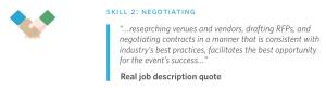 event planning career ebook negotiating