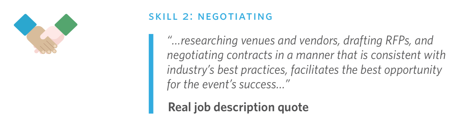 event planning career ebook negotiating