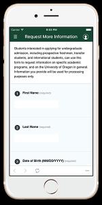 campus tour app call to action survey