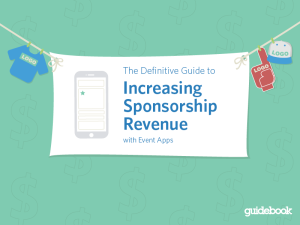 ebook sponsorships