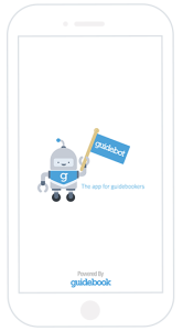 guidebot internal communications app splash