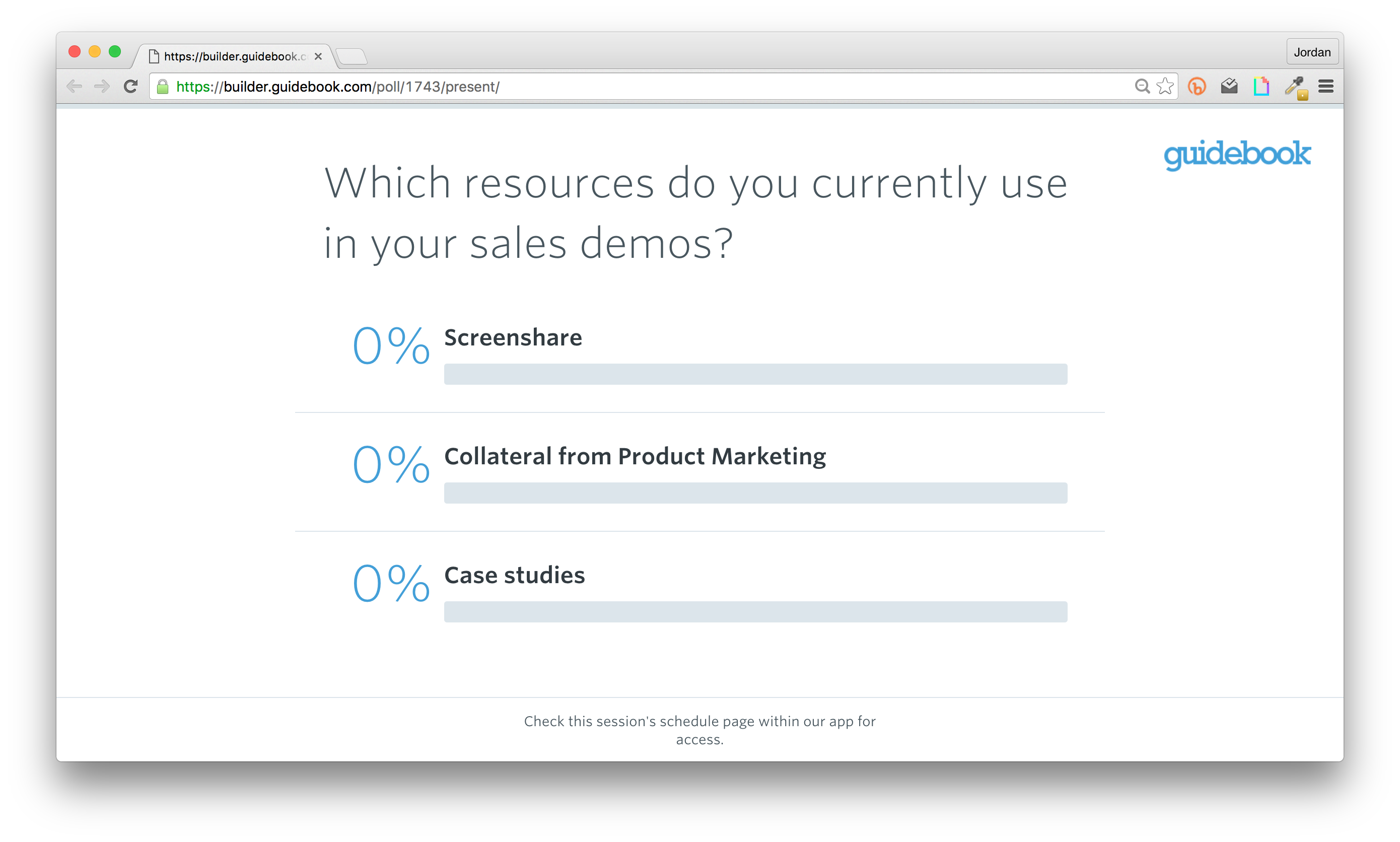 meeting app live poll