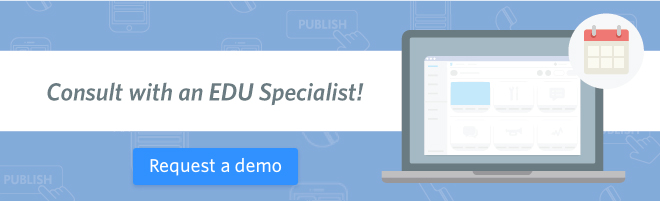 request a demo EDU